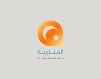 Al Magharibia channel logo design