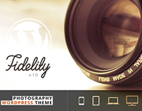 WP - Fidelity Premium Photography WordPress Theme