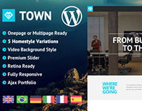 WP - Town Responsive Multi-Purpose One Page Theme