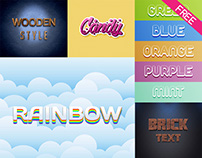 FREE Text Effects IN PSD