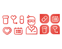 Social Media Icons for CVS
