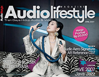 Audiolifestyle magazine covers