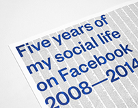 5 years of my social life on Facebook 2008 — 2014