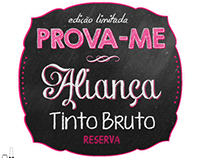 "Aliança: Advertising Campaign ""Prova-me"""