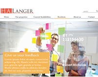 H.A. Langer Brand & Web Redesign
