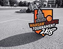 Logo design for Basketball Tournament