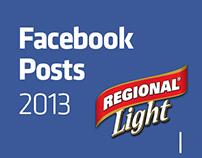 REGIONAL LIGHT - FB Posts 2013 Pt.1