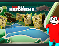 Find in Historien,WebGame, -3D model, Ilustrations-