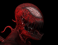 Carnage sculpture in ZBrush.