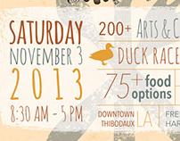 Thibodauxville Fall Festival Poster