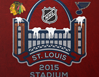 2015 NHL Stadium Series Logo Concept