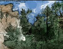 France: Journal Watercolors