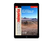 LatinoMinería Publicación Digital iPad iOS6