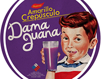 Disco Damajuana / Amarillo Crepúsculo