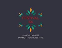 Festival 56 Mobile & Web Identity