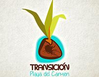 Logotipo para Transición Playa del Carmen
