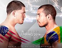UFC: Anthony Pettis vs Jose Aldo.