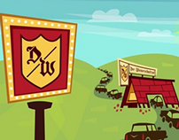Wienerschnitzel- Der Fun Since 61 Animated TV