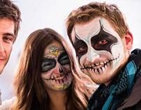 Dia De Los Muertos Face Art