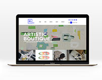 Artteca Artistic Boutique Branding