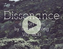 """Dissonance"" - a short film"
