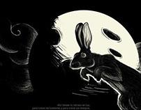 Conejo en la Luna.