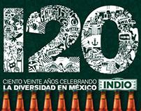 INDIO 120s - Campaña ciento veinte aniversario.