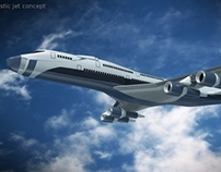 Futuristic aircraft concept