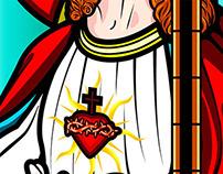 Vitral Jesus Christ