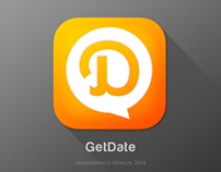 iOS7 App icon for GetDate