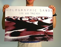 Holographic Sands Gig Posters