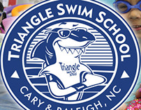 Triangle Swim School banner