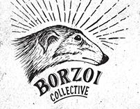 Borzoi branding logo variation
