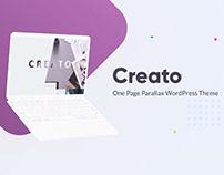Creato - Parallax WordPress Theme - Presentation