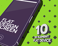 Element 3D - Flat Design Pack