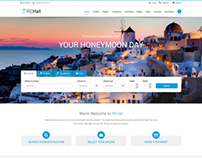 REHat - HTML5 Responsive Template for Travel System