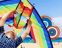 Fly Me Kite Fest Social Media Designs
