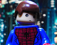Alternative Brick Spider-man | Toy Photography