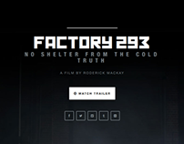 FACTORY 293 | Responsive trailer landing page