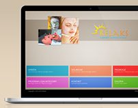 Beauty salon - web design