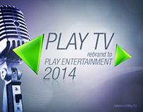 PLAY TV Rebrand 2014