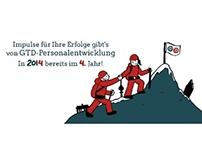 Grußkarte 2014 - GTD Personalentwicklung