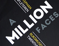 A Million Faces - Typographic Poster