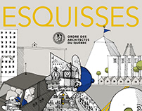 Illustrations pour le magazine ESQUISSES
