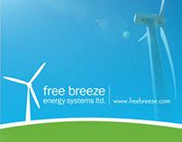 Free Breeze Wind Turbine Brochure