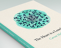 The heart is a lonely hunter. Book Cover.