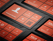 Creative Lumia Corporate Business Card