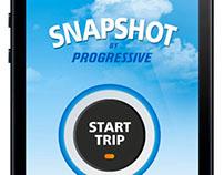 Progressive Insurance Snapshot App