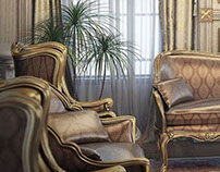 interior dinning and sitting - Qatar
