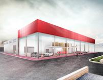 Industrial Area for Vehicle Dealer & Workshop, Benidorm